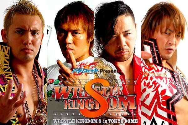 New Japan Pro Wrestling Wrestle Kingdom 8 Coverage