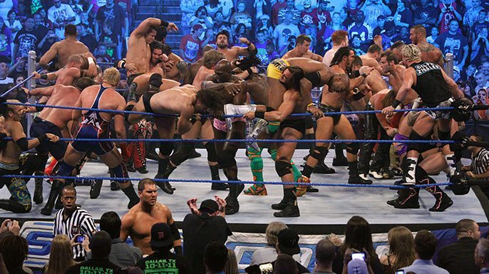Smackdown 41-man Battle Royal – Oct 14, 2011 (Match Review)