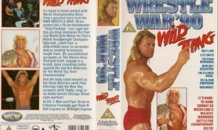 WCW WrestleWar 90 (Sterling Eyes)