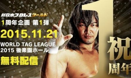 NJPW World Tag League 2015 – Night 1 (November 21) Review