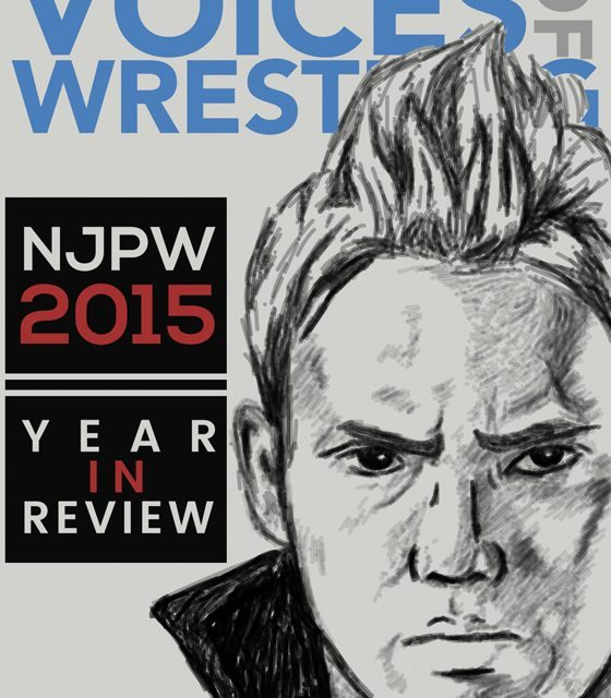 Voices of Wrestling NJPW 2015: Year in Review (eBook)