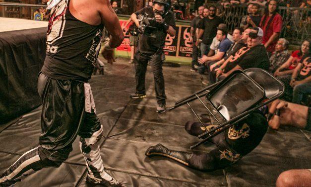 Lucha of the Hidden Temple: PJ Black & Mysterio Arrive & Responding to Cornette