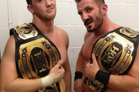 Ring of Honor (Episode 228): Jay Lethal & Adam Cole vs. reDRagon