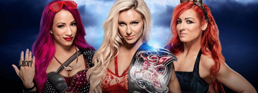 WrestleMania 32 Divas Championship Sasha Banks Becky Lynch Charlotte