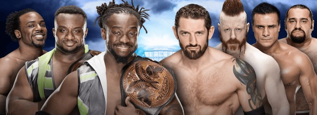WrestleMania 32 New Day vs League of Nations