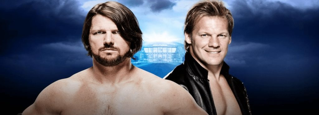 WrestleMania 32 AJ Styles vs Chris Jericho