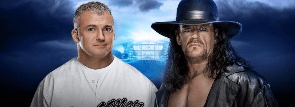 WrestleMania 32 Undertaker vs Shane McMahon