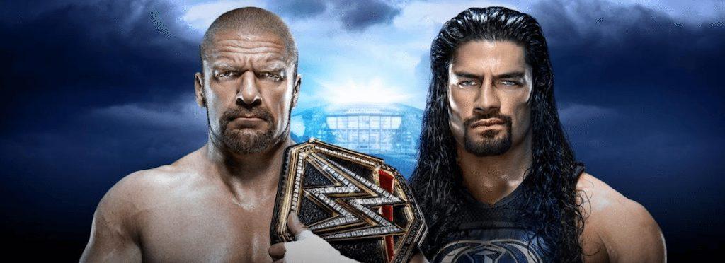 wwe wrestlemania 32 preview Triple H vs Roman Reigns