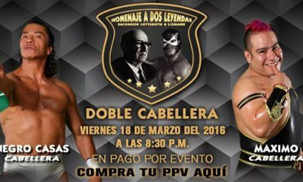 Two Bald Men: CMLL  Homenaje a Dos Leyendas 2016 Preview