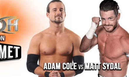 ROH Wrestling (Episode 232) Review: Adam Cole vs Matt Sydal