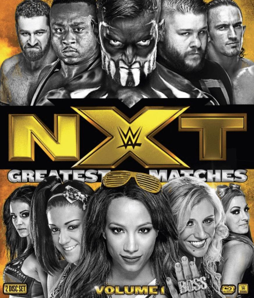 voicesofwrestling.com NXT's Greatest Matches Volume 1 DVD Blu-Ray