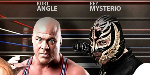 Our Fight: Rey Mysterio vs. Kurt Angle (URFight) Review