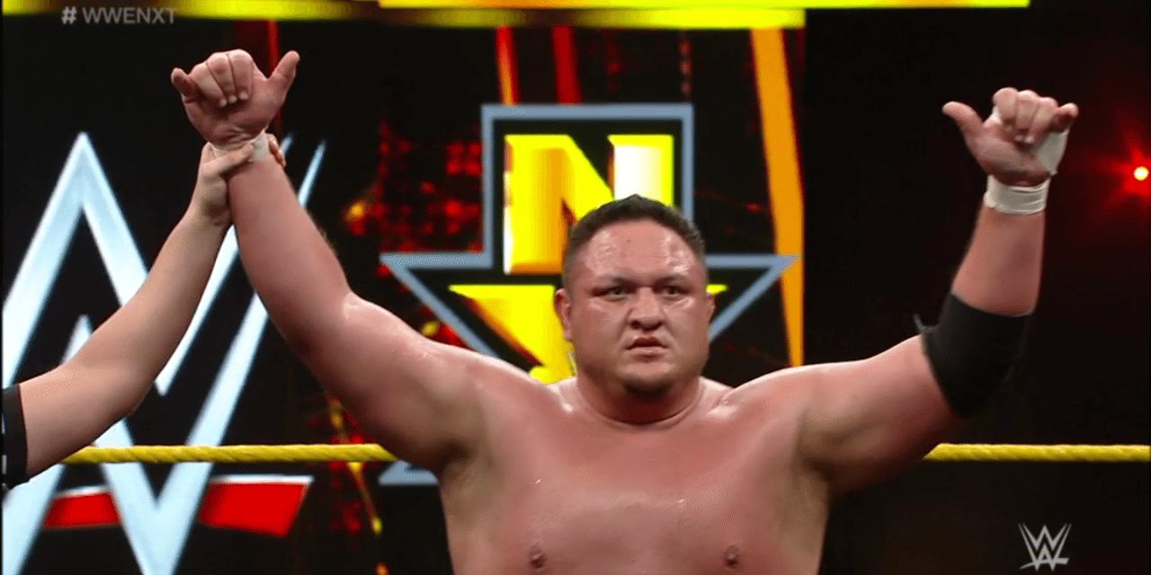 WWE NXT (4/20): Samoa Joe vs. Apollo Crews
