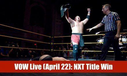 VOW Live: Samoa Joe, Kamaitachi, Gallows & Anderson debut, KES in TNA?