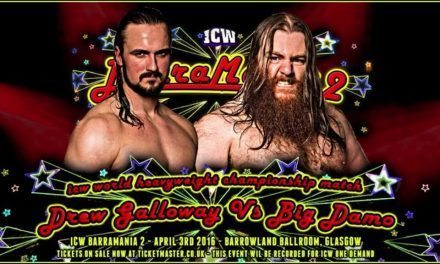 ICW Barramania 2 Results & Review (April 3 2016) Damo vs Galloway