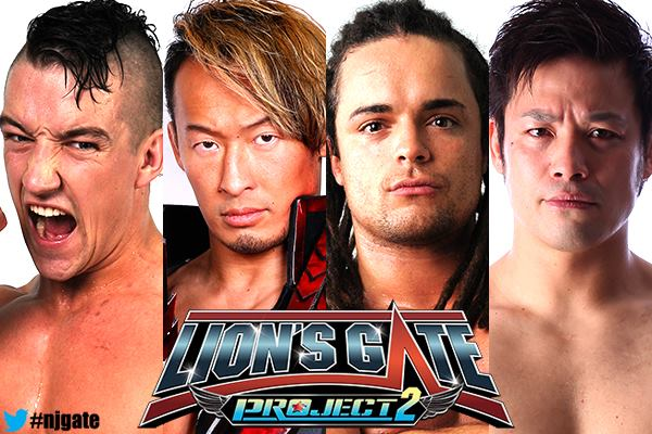 New Japan Pro Wrestling Lion's Gate Project2 Preview