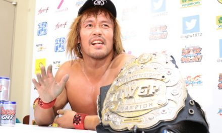 Championships Never Change, Even in New Japan Pro Wrestling