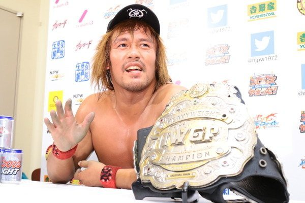 Championships Never Change, Even in New Japan Pro Wrestling