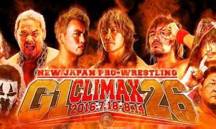 NJPW G1 Climax 26 Schedule & Blocks