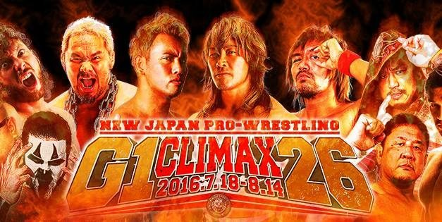 NJPW G1 Climax 26 Schedule & Blocks