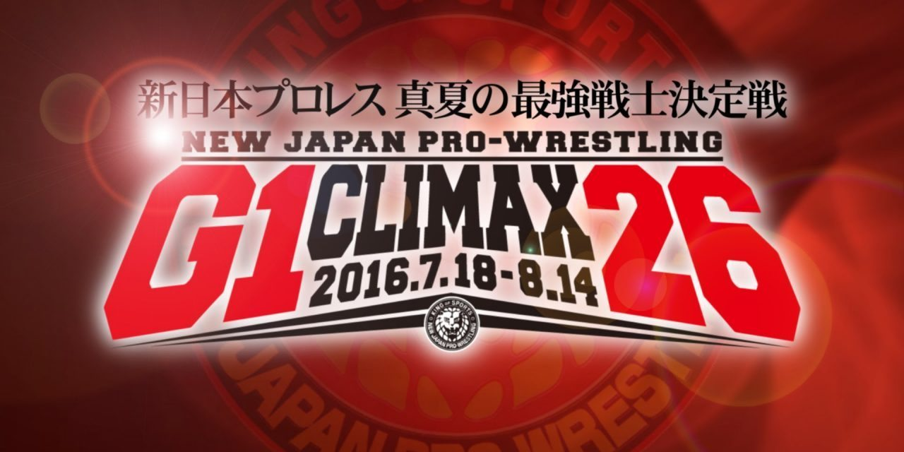 NJPW G1 Climax 26 Pick'Em Contest (Sign-Up Today!)
