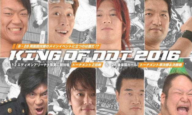 DDT King of DDT Round 2 in Osaka Preview & Predictions