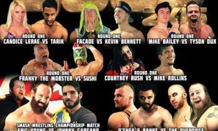 SMASH Wrestling Gold 2k16 Results & Review