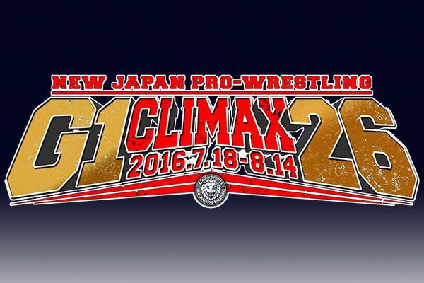 G1 Climax 26 Full Tournament Schedule