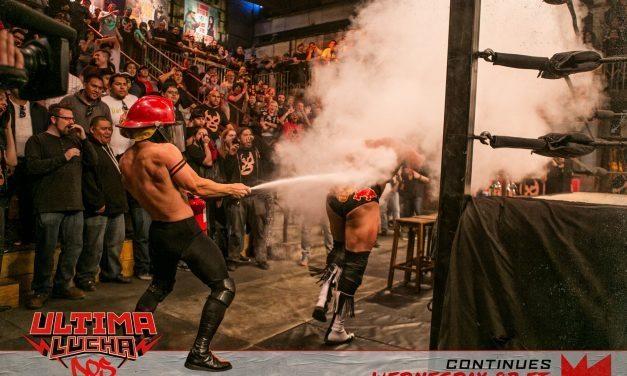 Ultima Lucha Of The Hidden Temple (Dos), Part One: A Night Where Falls Count Anywhere