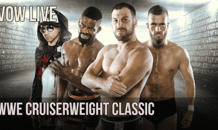 VOW Live: WWE Cruiserweight Classic begins, G1 predicts, Moose in TNA & more!