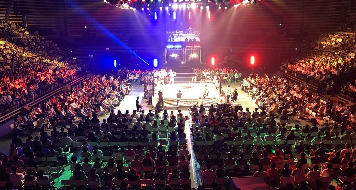 Dragon Gate Dangerous Gate 2016 (September 22) Results & Review