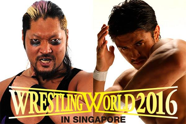 Wrestling World in Singapore 2016 Results and Review