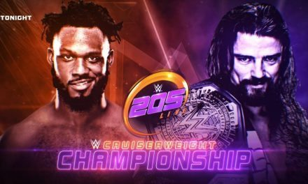 WWE 205 Live (November 29) Results and Review