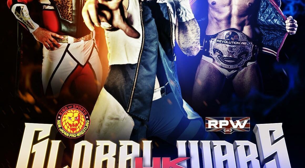 BritWres Roundtable: NJPW/RPW Global Wars UK, Mark Haskins & more!