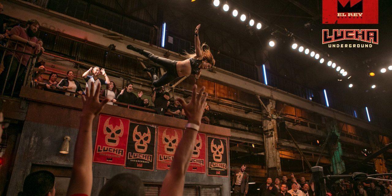 """""""I'm Back!"""" Lucha Underground 3 Episode Jamboree"""
