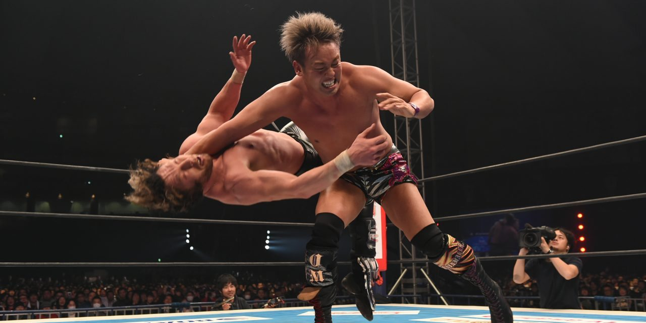 Image result for okada vs omega njpw dominion
