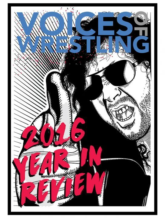 VoicesofWrestling.com - NJPW 2016 Year in Review eBook Cover