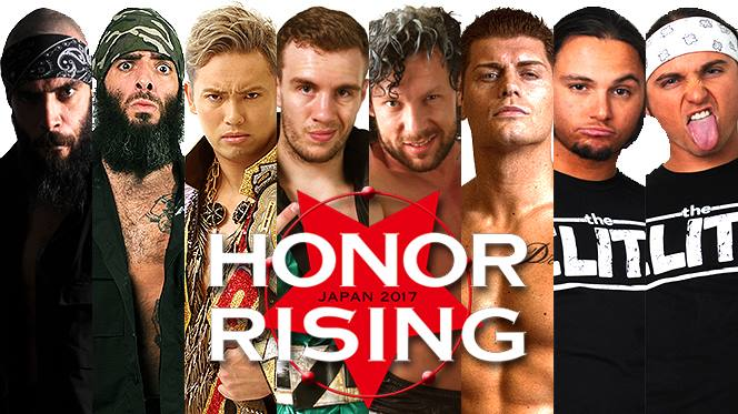 ROH & NJPW Honor Rising 2017 Preview & Predictions