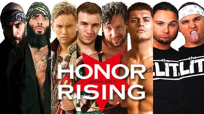 ROH & NJPW Honor Rising 2017 Preview & Predictions