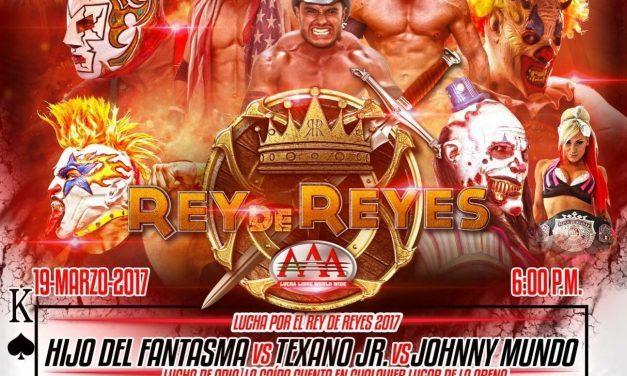 AAA Rey de Reyes 2017 Preview