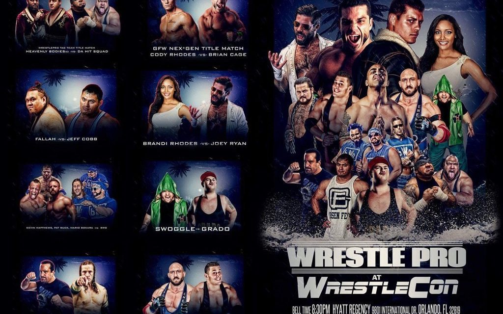 WrestlePro (March 30) Preview & Predictions