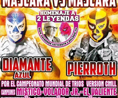 CMLL Homenaje a Dos Leyendas 2017 Preview