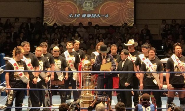 Burning Spirits: AJPW Champion Carnival