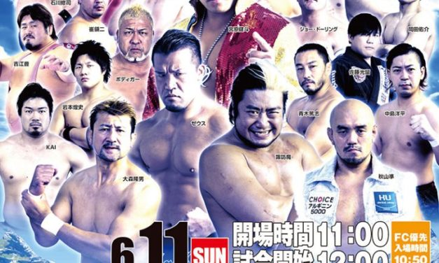 AJPW Dynamite Series 2017 (June 11) Results & Review