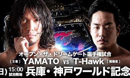 Dragon Gate Pro Wrestling Festival in Kobe 2017 Preview & Predictions
