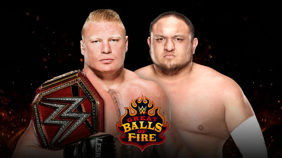WWE Great Balls of Fire 2017 Results & Review