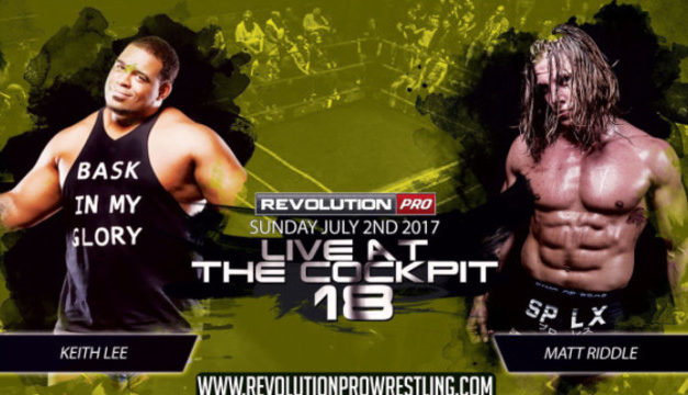 Revolution Pro Wrestling Live at the Cockpit 18 Results & Review