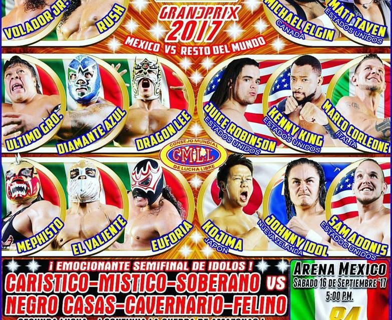 CMLL 2017 Gran Prix Preview & Predictions
