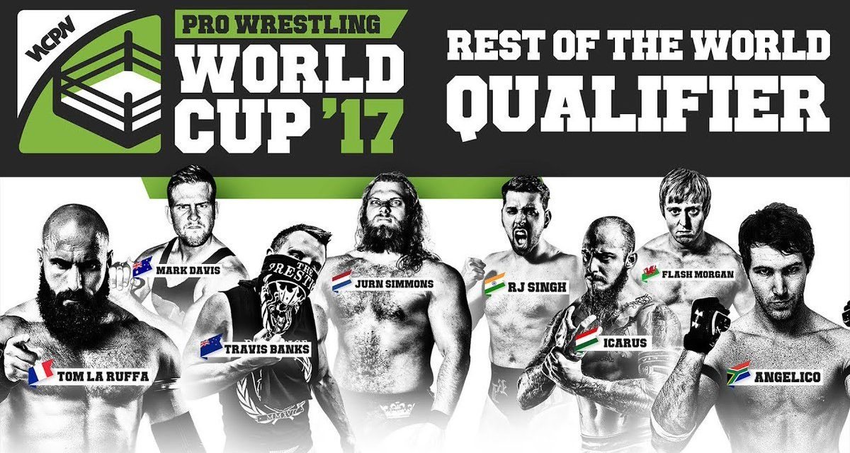 WCPW Pro Wrestling World Cup Rest of the World Qualifier Results & Review