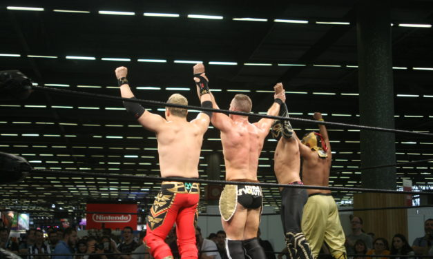 Come One, Come All: Wrestling at the 2017 Japan Expo